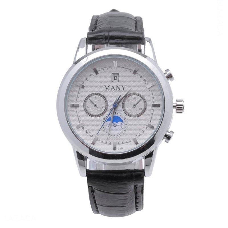 Nơi bán Đồng hồ nam dây da Many QH04 (Đen)