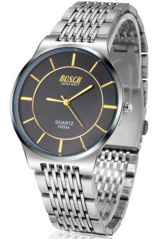 Giá Niêm Yết Đồng hồ nam dây inox BOSCK H3304 (Trắng mặt đen)