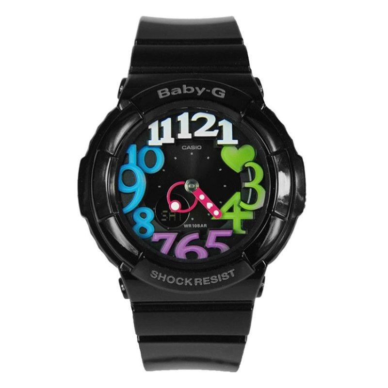 Nơi bán Đồng hồ nữ dây nhựa Casio BGA-131-7BDR (Trắng)