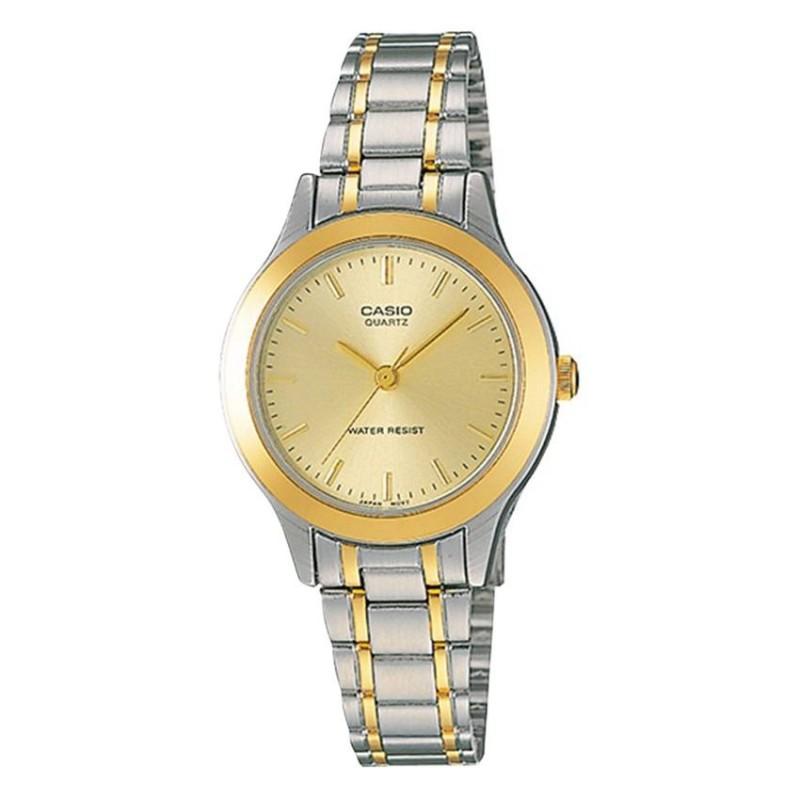 Nơi bán Đồng hồ nữ dây thép không gỉ Casio LTP-1128G-9ARDF (Bạc)