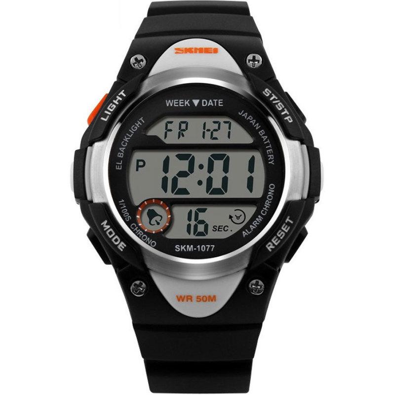 Đồng hồ trẻ em dây nhựa Skmei 1077 (Xanh) bán chạy