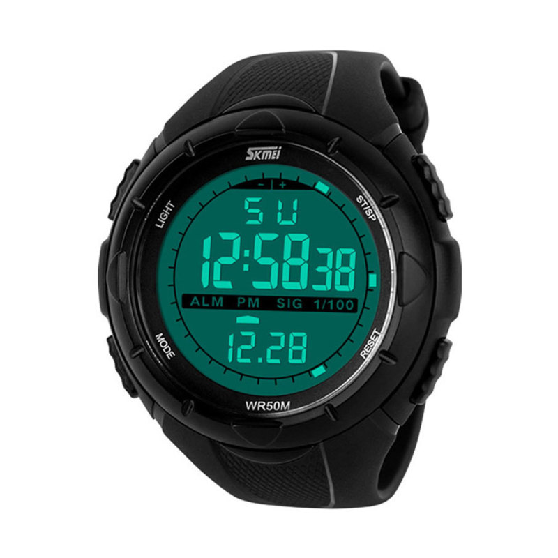 Nơi bán Đồng hồ trẻ em dây nhựa Skmei DG1025 (Đen)