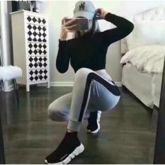 Giày BAIFUFLACA đen trắng dùng cho cả nam và nữ