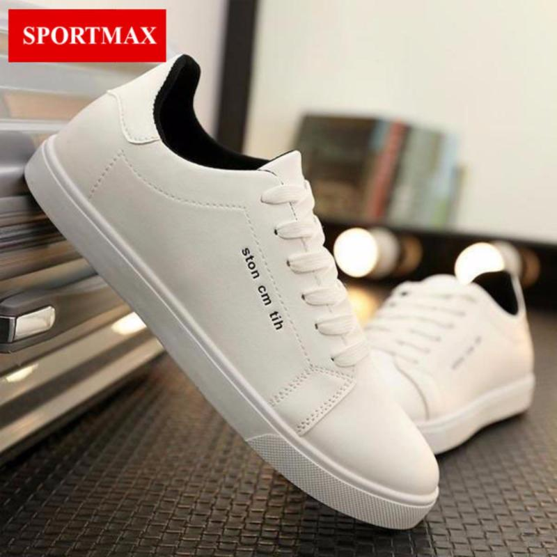 Giày casual nam Sportmax RMG5638W-Trắng