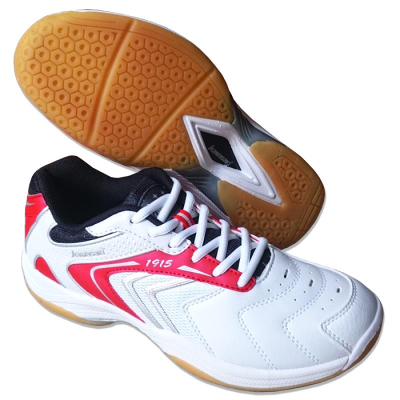 Giày cầu lông K_030 (Trắng đỏ)