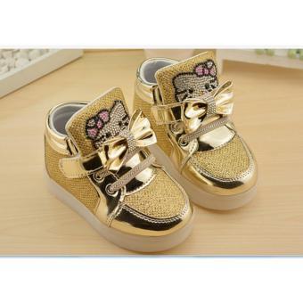 Giày Kitty bé gái 2-8 tuổi