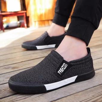 Giày lười vải nam thời trang và lịch lãm Fashion - GiayKS - LFS001 (đen) - 8302460 , NO007FAAA3Q7MCVNAMZ-6639134 , 224_NO007FAAA3Q7MCVNAMZ-6639134 , 300000 , Giay-luoi-vai-nam-thoi-trang-va-lich-lam-Fashion-GiayKS-LFS001-den-224_NO007FAAA3Q7MCVNAMZ-6639134 , lazada.vn , Giày lười vải nam thời trang và lịch lãm Fashion - Gia