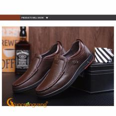 Giày nam công sở giày nam da thật GLG053