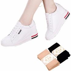 Giày nữ cao gót độn đế 6cm siêu hot 2018