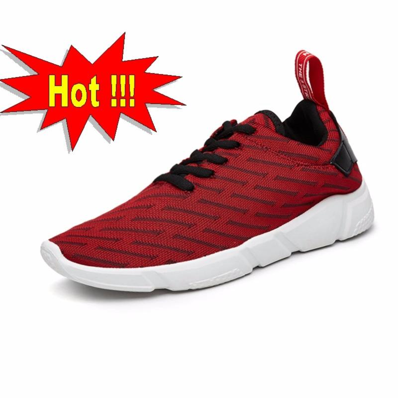 Giày Sneaker Nam Thể Thao Mẫu Mới Siêu Hot - DOHA Shop SN39R35NN Red