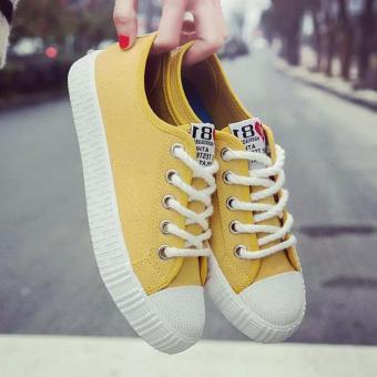 Giày sneaker nữ 81 Fashion - TiLaMi (vàng đẹp) - 3