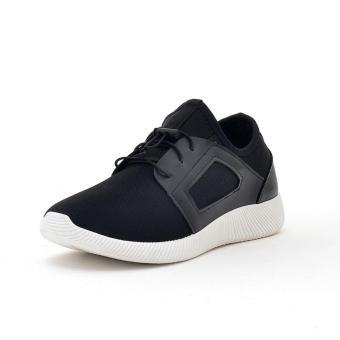 Giày Sneaker Thể Thao Nam Cá Tính POSA PS007 (Đen) - 2