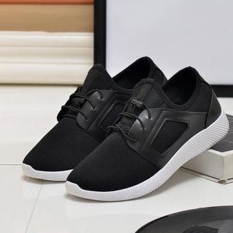 Giày Sneaker Thể Thao Nam Cá Tính POSA PS007 (Đen) - 3