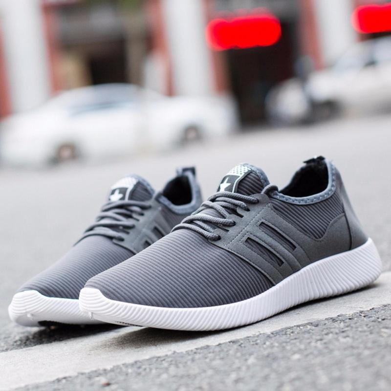 Giày Sneaker Thời Trang Nam & Nữ DOHA Shop - GS23X08 (Gray)