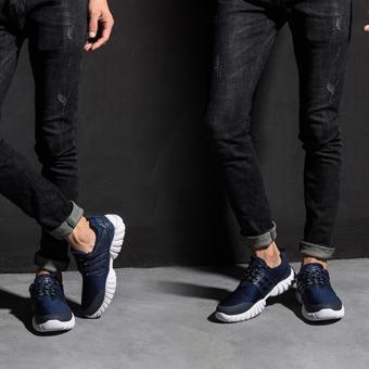 Giày Thể Thao Nam Cao Cấp - Pettino P006 (xanh) - 5