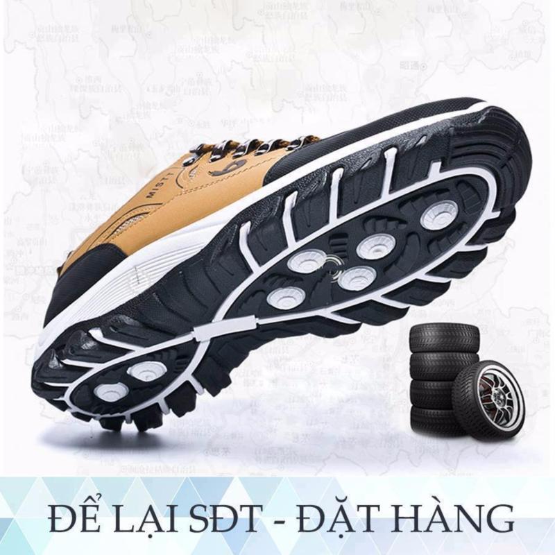 Giày thể thao nam G-paperLZD2866A (Vàng)