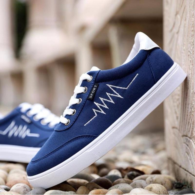 Giày thể thao nam nhập khẩu OCCO GSNK01X (xanh)
