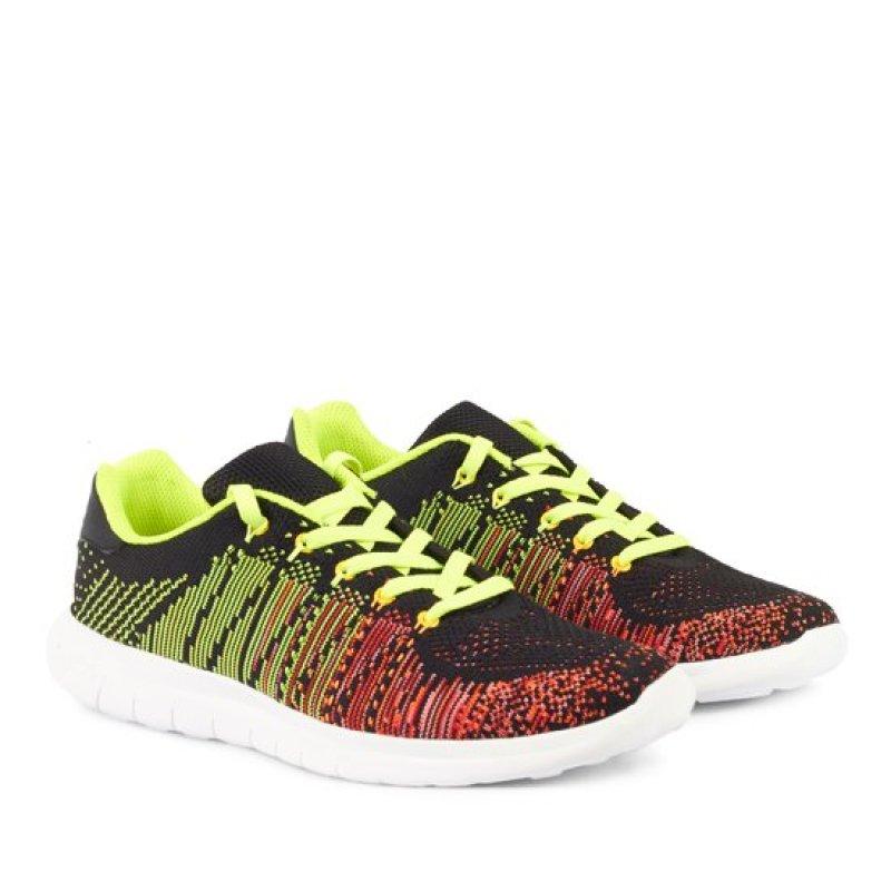 Giày thể thao nam Prowin TSUNAMI-XDO (Xanh phối đỏ)