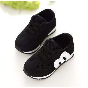 Giày thể thao trẻ em RS009 (Đen)