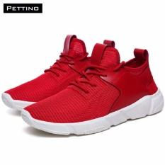 Giày Thời Trang Nam Cao Cấp - Pettino GT08 (đỏ)