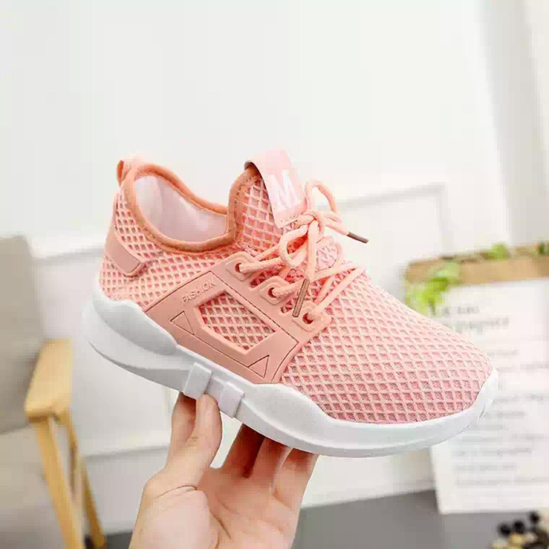 Giày thời trang nữ Fashion M lưới - GiayKS - MLuoi001 (hồng cam) ...