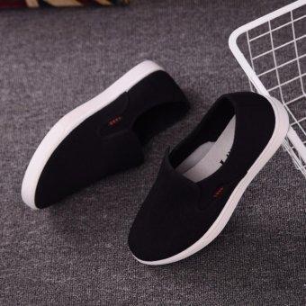 Giày Vải Canvas Nam (Đen)