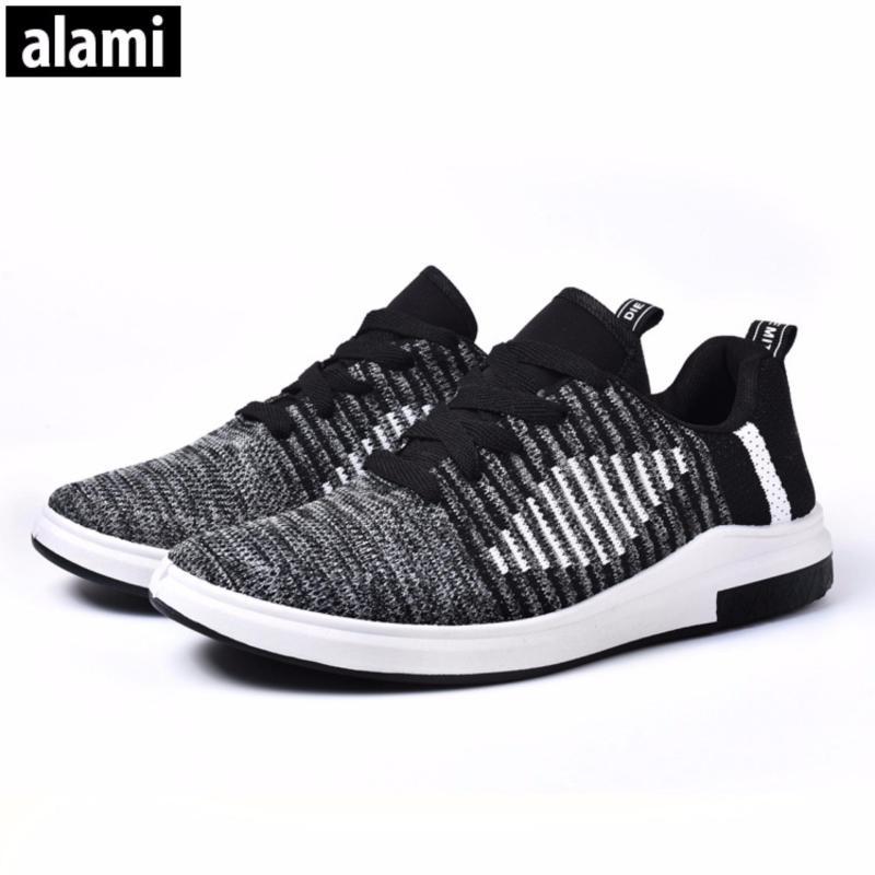 Giầy vải sneaker nam Alami GTT3001 ( xanh2)