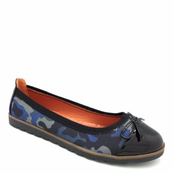 Giày Slip-on mũi da bóng đính nơ 333020-184-13