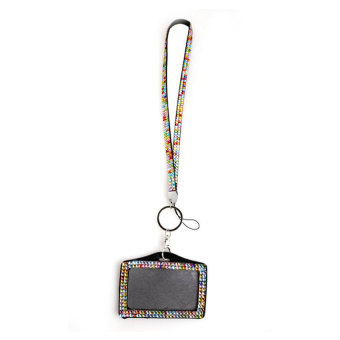 Resin Rhinestone Work Card ID Case Holder (Intl)
