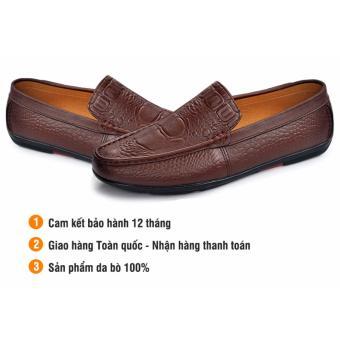 Giày da cao cấp IS262 - Sang Trọng, Lịch lãm, Êm ái.