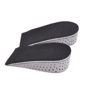 1 pair 4.3cm Insole Heel Lift Insert Shoe Pad Height Increase Cushion Elevator Taller