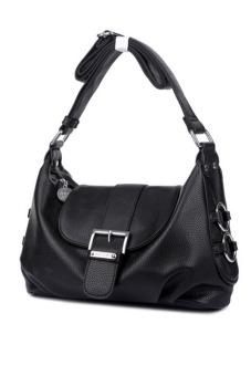 Túi xách tay nữ da thật Thành Long TLG T819-1 (đen)