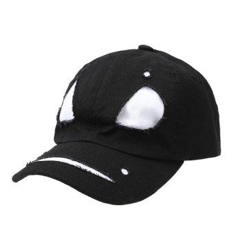 European Fashion Hip-hop Baseball Cap(White) - intl
