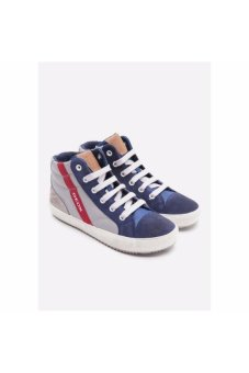 Giày sneakers GEOX J ALONISSO B. B GREY/BLUE