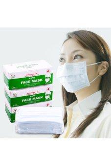 Bộ 3 hộp khẩu trang y tế 3 lớp kháng khuẩn