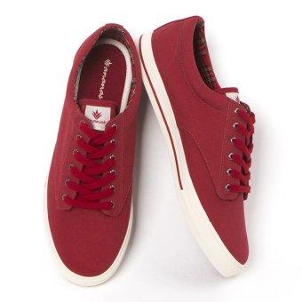 Giày nam thời trang ANANAS 20091 (Nâu Đỏ)