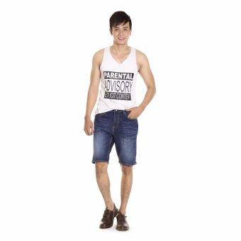 Quần Short Jeans Thun Nam Cotonfield