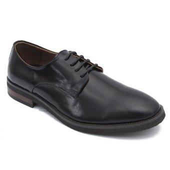 Giày công sở nam lịch lãm thời trang SMARTMEN GD-678 (Đen)