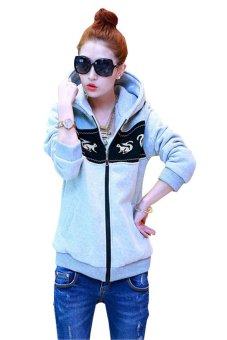 Áo khoác nữ họa tiết sóc KG061