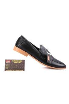 Giày tây nam da thật Da Giày Việt Nam VNLZ1L8ZL02D (Đen)