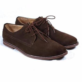 Giày tây cột dây Tathanium Footwear TFBRS2204 (Nâu)