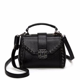 Túi xách nữ cao cấp phong cách trẻ trung JLD104 (Đen) - 3992412