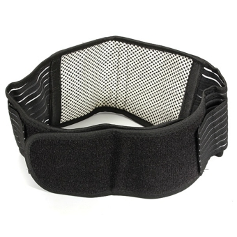 Moonar Infrared Magnetic Back Waist Support Lumbar Brace Belt Double Pull Strap Lower Pain