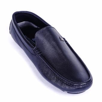 Giày lười nam da thật cao cấp Da Giày Việt Nam - VNLHV16VCT7D (Đen)
