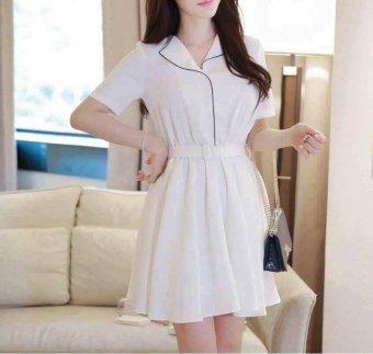 Váy Trắng suông CN05