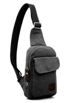 Túi đeo chéo dành cho nam thêm cá tính (Đen)