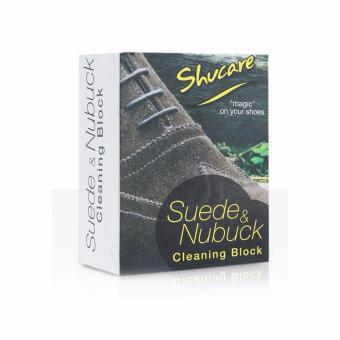 Cục tẩy da lộn và da Nubuck SHUCARE SUEDE & NUBUCK CLEANING BLOCK nam