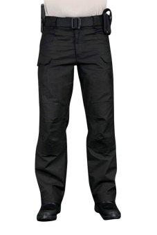 Moonar Military Multi-pockets Tactical Cargo Pants (Black)