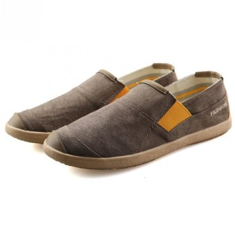 Flax Weaving Shoes A Pedal Lazy Shoes Straw Shoes - intl