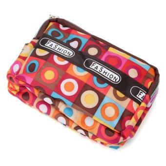 Lady Zipper Clutch Bag Coin Card Case Handbag Wallet Phone Purse style6 - Intl